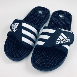 le adidas adissage diapositive black massaggio sandali 12 poshmark